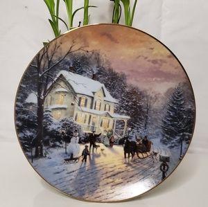 Thomas Kinkade Collector Plate